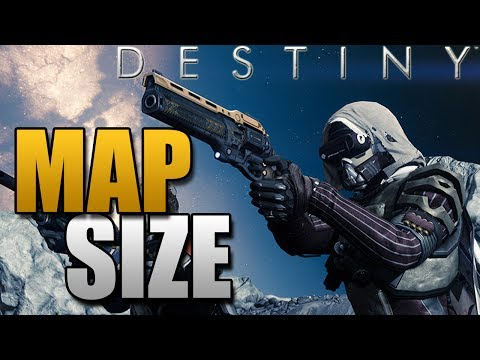 Destiny - Map Size Reveal! (Destiny News)