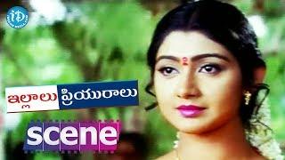 Illalu Priyuralu Movie Scenes - Divya Unni Gives Lift To Venu || Divya Unni, Venu - IDREAMMOVIES