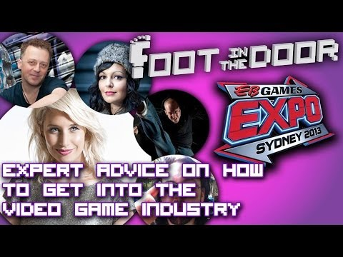 Foot In The Door Panel (EB Expo 2013): Advice on how to get into the video game industry