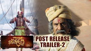 Gautamiputra Satakarni post release trailer 02 || Balakrishna || #GPSK || #Gautamiputrasatakarni || - IGTELUGU