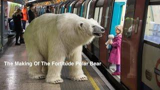 بالفيديو .. دب قطبي عملاق يقتحم مترو لندن ويثير الذعر