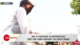 Dabbawalas of Mumbai shift to motorbikes from traditional bicycles - ZEENEWS