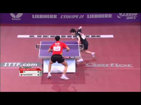 WTTC 2013 Highlights: Xu Xin vs Kenta Matsudaira (1/4 Final)