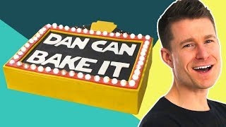 Dan Bakes a Broadway Cake That LIGHTS UP ✨ Challenge #13 - FOODNETWORKTV