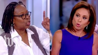 Watch the screaming match between Whoopi Goldberg and Judge Jeanine - WASHINGTONPOST