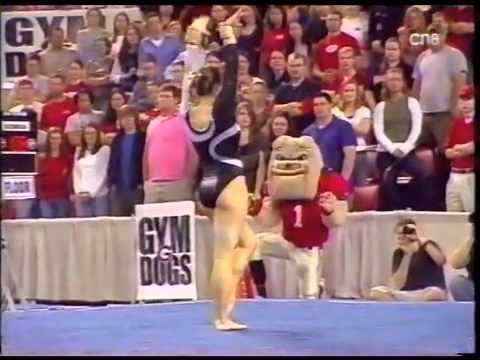 Katie Heenan - 2007 Stanford vs UGA - Floor Exercise