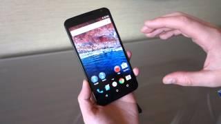 مقطع فيديو يستعرض لنا نظام Android M على الهاتف Nexus 6
