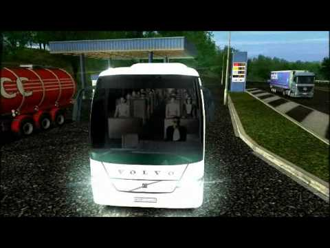 Euro Truck Simulator Eurolines Bus