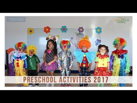 Preschool Activities 2017