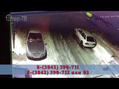 Поджог ВАЗа в Кемерове попал на видео