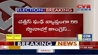Chhattisgarh Election results 2018 LIVE: Early trends show Congress | CVR News - CVRNEWSOFFICIAL