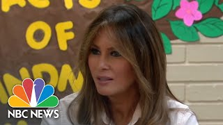 First Lady Melania Trump Visits Texas Migrant Detention Center | NBC News - NBCNEWS