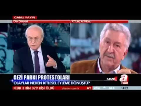 Gezi parkı olaylarının perde arkası   Aytunç ALTINDAL anlatıyor