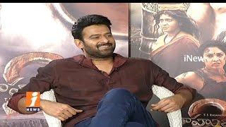 Prabhas On Releasing Baahubali 2 Movie In Multi Languages | Anushka | Rana | S S Rajamouli | iNews - INEWS
