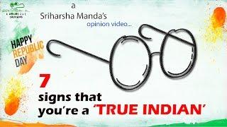 A True Indian //2016 Most Inspirational Latest Telugu Shortfilm // by Sriharsha Manda - YOUTUBE