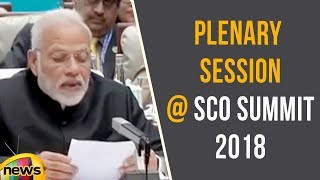 PM Modi's Remarks In The Plenary Session At SCO Summit 2018 In Qingdao, China | Mango News - MANGONEWS