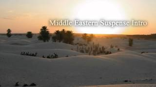 Royalty Free :Middle Eastern Suspense Intro