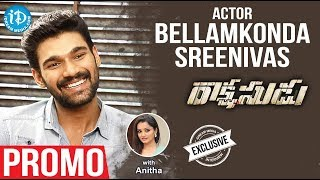 Actor Bellamkonda Sai Sreenivas Exclusive Interview - Promo || Talking Movies With iDream - IDREAMMOVIES