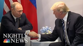 Trump Arrives In Helsinki Ahead Of Putin Summit | NBC Nightly News - NBCNEWS