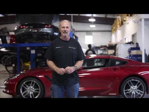 John Heinricy Test Drives 600 HP C7 Corvette at Hennessey Performance