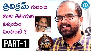 Writer Abburi Ravi Exclusive Interview Part #1 || Frankly With TNR || Talking Movies With iDream - IDREAMMOVIES