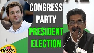 Congress Announces Dates for Party President Election, Stage set for Rahul gandhi | Mango News - MANGONEWS