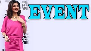 Sushmita Sen at a Popular Online Fashion Week - Episode 2 | EXCLUSIVE
