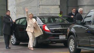 Hillary Clinton arrives at Trump inauguration - CNN