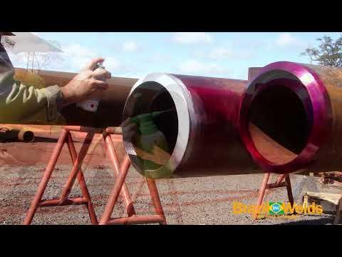Video Aula - Passe de Raiz SA 335 P22 Solda TIG(Root Pass SA 335 P22 TIG Welding).avi