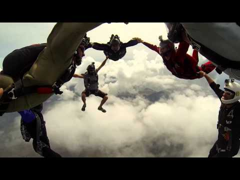 Skydiving in Paradise - GoPro Hero3 edition - mid October jumps