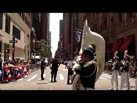 Puerto Rican Day Parade~NYC~2013~Banda Escolar de Guayanilla~NYCParadelife