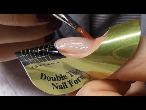 Jak zrobić French Żelowy na formie - krok po kroku tutorial [paznokcie żelowe]