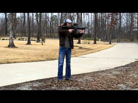 AR-15 as fast as full auto 900rpm Bushmaster Slide Fire .223