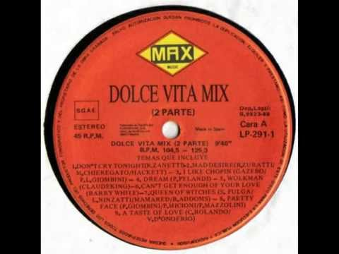 Dolce Vita Mix .2 Original CD Sound