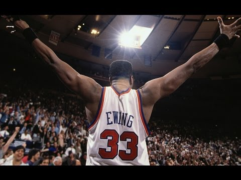 Basketball Great Patrick Ewing's Most Awesome Plays