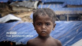 The Rohingya crisis - special report - SKYNEWS