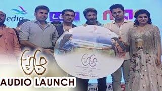 Pawan Kalyan Launched Audio CD at A Aa Audio Launch || Nithiin, Samantha - ADITYAMUSIC