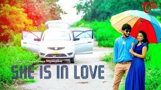 She Is In Love A Romantic Short Film || by Pavan Kumar Vajinepalli || #TeluguShortFilms - TELUGUONE