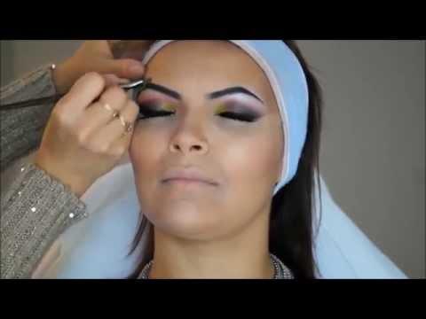 Maquillage Libanais et Extreme Contouring