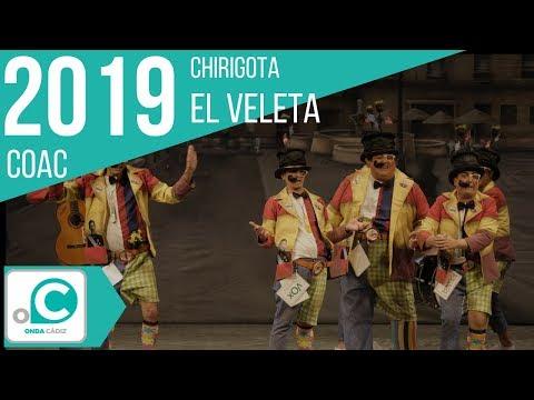 La agrupación El veleta llega al COAC 2019 en la modalidad de Chirigotas. Primera actuación de la agrupación para esta modalidad.