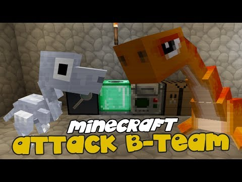 ZOO W PIWNICY ! - Minecraft: Attack of the B-Team #6