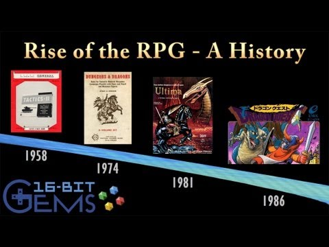 16-Bit Gems #30: Rise of the RPG - A History