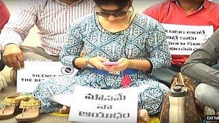 Madhavi Latha Silent Protest Supporting Pawan Kalyan | TFPC - TFPC