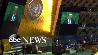 President gets laughed at when delivering speech to UN - ABCNEWS