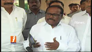 MP Kesineni Nani Complaint To EC   YCP Distribution Money For Voters In Nandyal By Election  iNews - INEWS