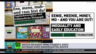 Snitch on right-wing parents, kids! ... says German kindergarten brochure - RUSSIATODAY