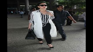 In Graphics: Kareena Kapoor Khan is back in Mumbai to celebrate Taimur Ali Khan's first - ABPNEWSTV