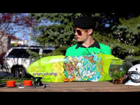 Gear Overview 2012 Landyachtz Wolf Shark Otang 80a Balut Bear 852 Trucks Tekton Bearings