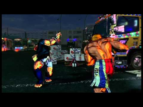 Street Fighter x Tekken - Tekken characters gameplay