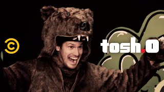 Tosh.0 – Web Redemption – Bear Attack Survivor - COMEDYCENTRAL